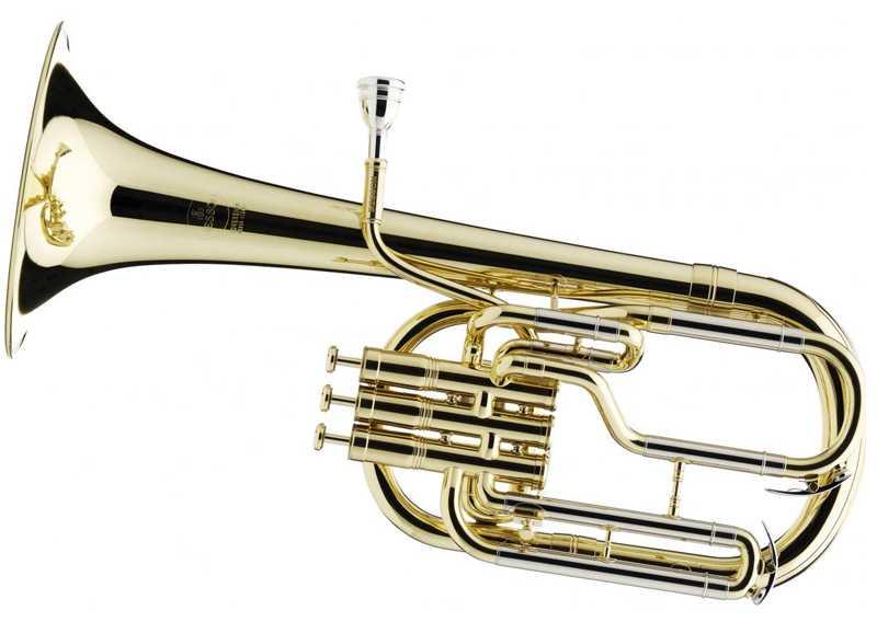 Альтгорн (Альт) медный духовой музыкальный инструмент