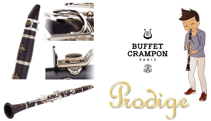 Urban Play  by Buffet Crampon Bb Clarinet Mouthpiece with Ligature