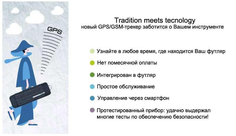 Встроенный GPS/GSM трекер Maurizio Riboni