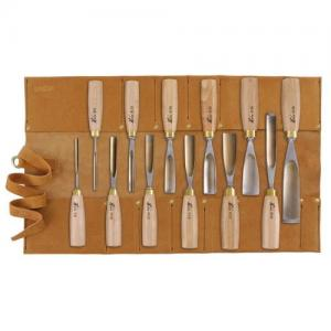 Herdim® Scroll Gouges, 12-Piece Set