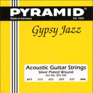 [ru]Струны для акустической гитарыt[/ru][en]Acoustic Guitar Strings[/en][de]Akustik Gitare Saiten[/de] Pyramid Gypsy Jazz Light