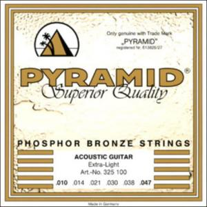 Acoustic Guitar Strings Pyramid Superior Quality Extra Light