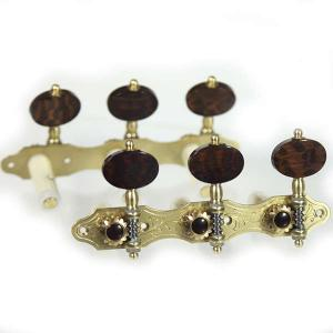 Alessi F2 Snake wood Guitar Machine Heads for Classical Guitar
