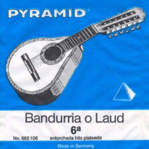 Bandurria or Laud Strings Pyramid