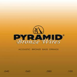 Bass Guitar Strings  Pyramid  Akustik Bronze Short Scale