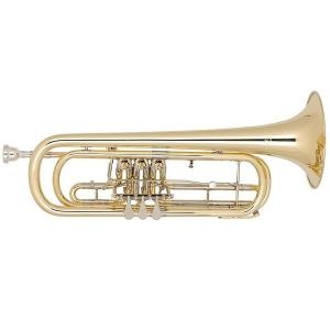 Bb Bass Trumpet Miraphone 37 100 Yellow Brass laquered