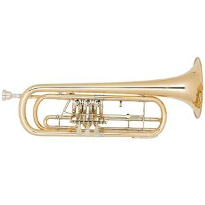 Bb Bass Trumpet Miraphone 37 100 Gold Brass laquered