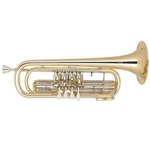 Bb Bass Trumpet Miraphone 37 407 Yellow Brass laquered