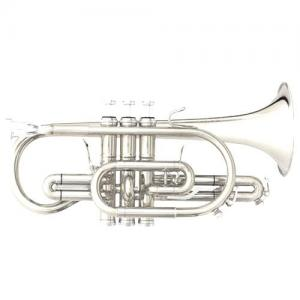 "Bb Cornet B&S Challenger ""Brochon"" 3142/2-S (silver plated)"