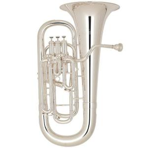Bb Euphonium compensating Miraphone 1258A Silver plated