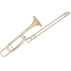 Bb/F Bass Slide Trombone Miraphone 67 Gold Brass