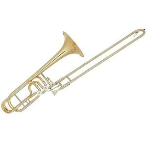 Bb/FGb Bass Slide Trombone Miraphone 691 Yellow Brass