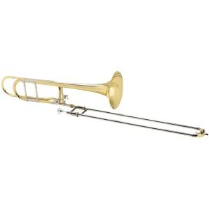 Bb/F Slide Trombone Antoine Courtois Legend 420MBO open wrap