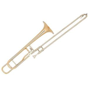 Bb/F Tenor Slide Trombone Miraphone Bb-61D Gold Brass