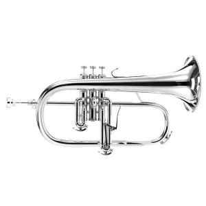 Bb Flugelhorn with 3 piston valves B&S Challenger 3145-S (silver plated)