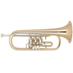 Bb Flugelhorn Miraphone 24R Gold Brass laquered