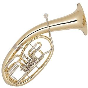 Bb Tenor Horn with 4 rotary valves Miraphone - 474 Yellow Brass laquered