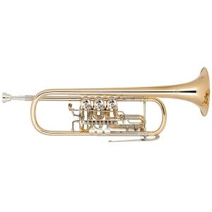 Bb Trumpet Miraphone 11 1100A 120 Gold Brass laquered