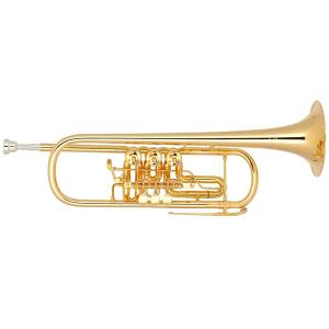 Bb Trumpet Miraphone 11 Gold Brass Gold plated