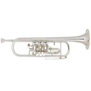 Bb Trumpet Miraphone 9R 1102A 100 Gold Brass Silver plated
