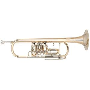 Bb Trumpet Miraphone 9R1 heavy Gold Brass laquered