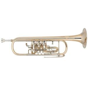Bb Trumpet Miraphone 9R1 1100A 100 heavy Gold Brass laquered