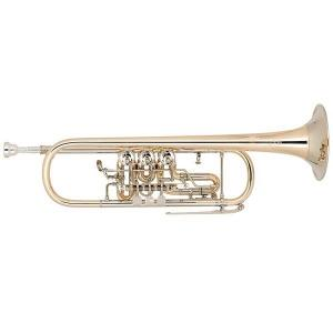 Bb Trumpet Miraphone 9R1 1100A 120 heavy Gold Brass laquered