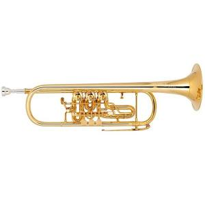 Bb Trumpet Miraphone 9R1 heavy Gold Brass Gold plated