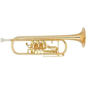 Bb Trumpet Miraphone 9R1 1101A 120 heavy Gold Brass Gold plated