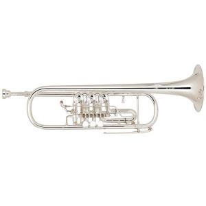 Bb Trumpet Miraphone 9R1 1102A 120 heavy Gold Brass Silver plated