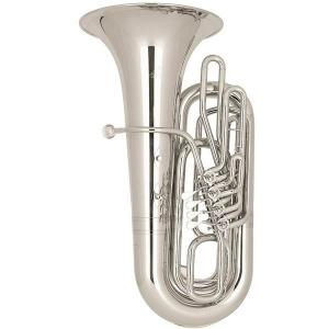 BBb Tuba Miraphone 289A 20 silver plated
