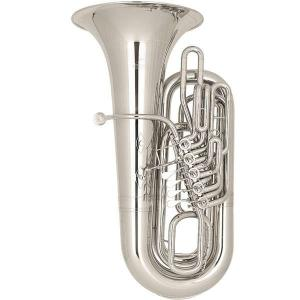 BBb Tuba Miraphone 289B silber plated