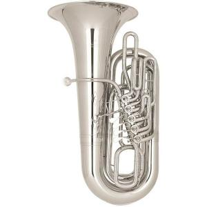 BBb Tuba Miraphone 289B 20 silver plated