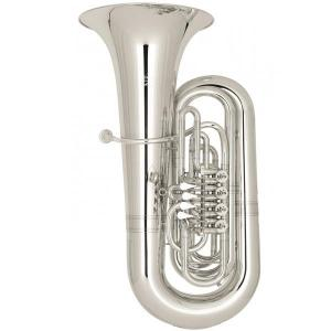 "BBb Tuba Miraphone 496A ""Hagen-496"" silver plated"