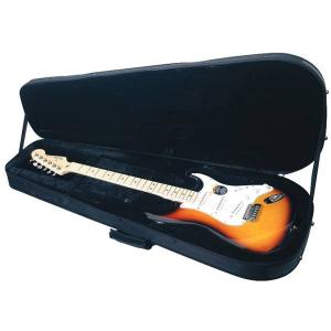 Deluxe ST Style Guitar Black Soft Light Case Case for Electric Guitar RockCase RC 20803 B