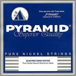 Electric Bass Guitar Strings Pyramid Pure Nickel 4-String Long Scale