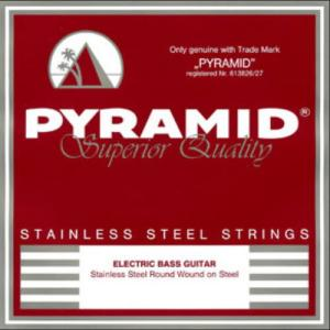 Electric Bass Guitar Strings Pyramid Stainless Steel 6-String Long Scale