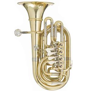 "F Tuba with 4 rotary valves Meinl Weston 14-L ""Trolley"""