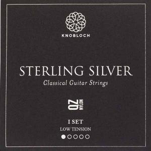 Strings for Classical Guitar Knobloch Sterling Silver Line 200SSQ Medium Tension Sterling Silver Q.Z