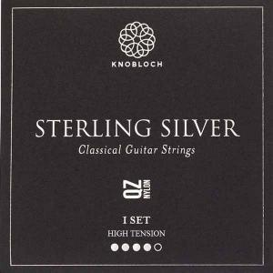 Strings for Classical Guitar Knobloch Sterling Silver Line 500SSQ High Tension Sterling Silver Q.Z