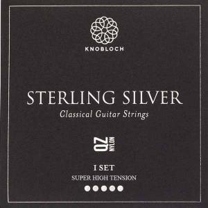 Strings for Classical Guitar Knobloch Sterling Silver Line 600SSQ Super High Tension Sterling Silver Q.Z