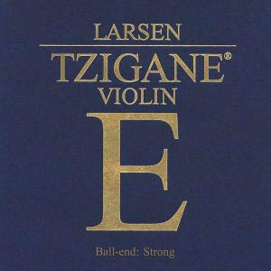 Larsen Tzigane E String for Violin with Ball