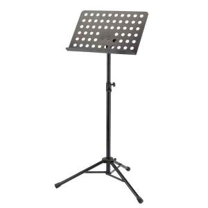 Music Stand with a steel plate, black