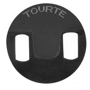 Rubber mute Tourte, violin, viola, cello