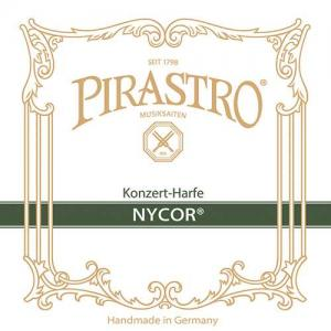 String set 3. Octave for Concert Harp Pirastro Nycor