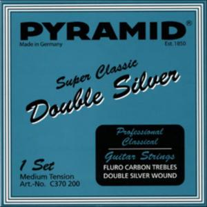 Classical Guitar Strings Pyramid Super Classic Double Silver Carbon