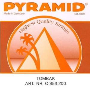 Classical Guitar Strings Pyramid Tombak Polished