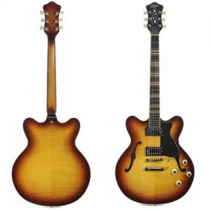 Semi-Acoustic Guitar Hofner Verythin CT Sunburst