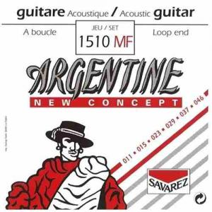 Strings for Acoustic Guitar Savarez Argentine 1510