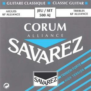 Strings for Classical Guitar Savarez Alliance  Corum 500 AJ High Tension